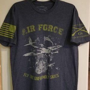 Grunt Style Airforce  Tshirt (Large)